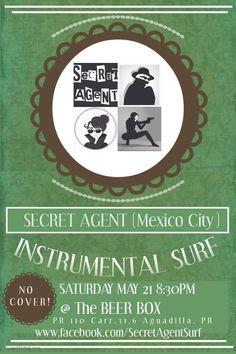 Sound Box Music Sessions: Secret Agent #sondeaquipr #soundboxmusicsessions #secretagent #thebeerbox #aguadilla