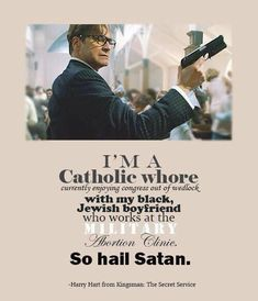 Kingsman- freaking hilarious. So far my fave movie...can't wait to add it to my collection.