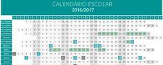 Calendário Escolar 2016/2017 - ClickProfessor ClickProfessor