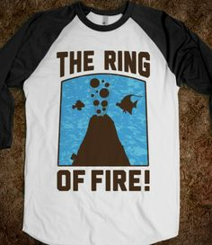 The Ring of Fire from Disney Finding Nemo