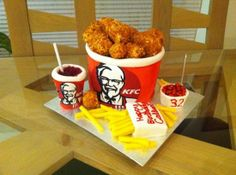 Top 12 Popeyes And KFC Cakes So Real It Will Make You Hungry
