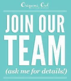 Join my team! Email me at SusanSellOO@yahoo.com