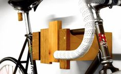 fahrrad hänger-Recycled Wood Bike Rack