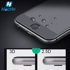 Anti-knock Tempered Glass 4.7' 3D Curved Surface Full Cover Screen Protector Film For iPhone 6 6S/ 6 6S Plus
