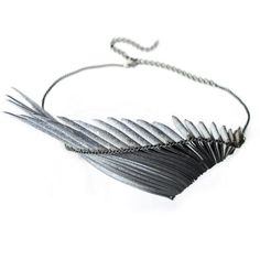 Not just jewellery; this is contemporary design for the spirited individual. London Live, Show White, Oxidized Silver, Image Shows, Helsinki, Jewelry Collection, Tassel Necklace, Jewelry Making, Diy Jewellery