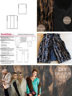 DIY: Fun Fur Vest