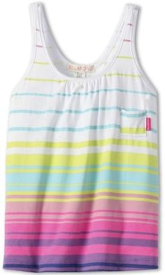 Billabong Kids - Listen To This Knit Tank (Little Kids/Big Kids) (Multi) - Apparel at ShopStyle