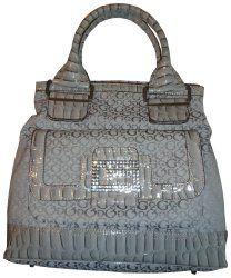 #Women's #Guess #Purse #Handbag Spring Fling Grey on @etrendzshop.com