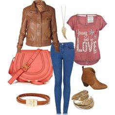 """young fall"" by chanett11 on Polyvore"