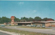 Ridgewood Motor Hotel Beaumont Texas TX 1950s