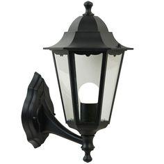 Nordlux Cardiff Up Wall Lantern - Black