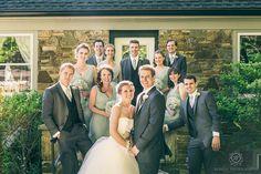 best bridal party poses for weddings Glenerin Inn Wedding