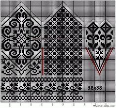 Bilderesultat for fair isle mittens pattern free Knitted Mittens Pattern, Fair Isle Knitting Patterns, Crochet Mittens, Knitting Charts, Knitting Stitches, Knitting Needles, Free Knitting, Knitting Socks, Knit Crochet