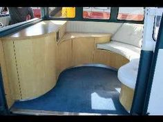 VW Camper Van Interiors   Our family of 7 traveled cross county in one of these in the early '70's . SO much fun!