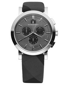 A Burberry watch with this time of design