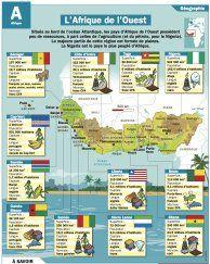 L'Afrique de l'Ouest - Mon Quotidien, le seul site d'information quotidienne pour les 10-14 ans !