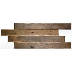 Reclaimed Barnwood Tiles - Mission Stone and Tile - Luxury Tile Store - Nashville, TN Wood Wall Tiles, Timber Tiles, Reclaimed Barn Wood, Recycled Wood, Imperial Tile, Tile Panels, Tile Stores, Responsive Layout, Interior Decorating