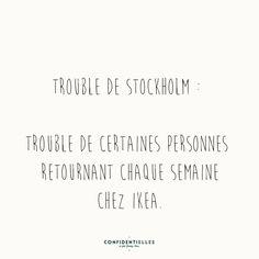 Mot troublé - Confidentielles