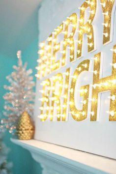 super lights para #navidad