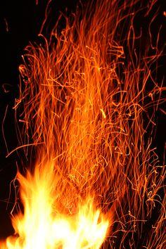 Heat fire.
