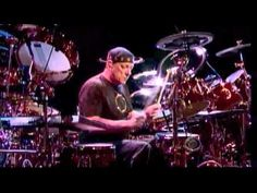 Ladies and Gentlemen, The Professor on the drum kit. Neil Peart Drum Solo in HD on David Letterman Jun 09 Video bitrate - Mbps Audio bit. Letterman Show, Rush Music, Rush Concert, Rush Band, Neil Peart, Drum Solo, Vintage Drums, Greatest Rock Bands, Progressive Rock