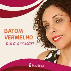 REVISTA UNIVERSO FEMININO: BATOM VERMELHO