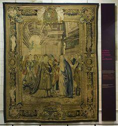 Tapisserie- La Reine Artemise au Conseil ou Les Députés