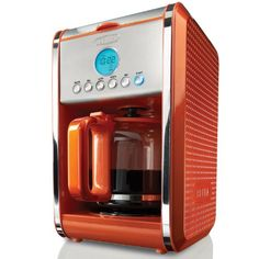 BELLA 13845 Dots Collection 12-Cup Programmable Coffee Maker, Orange BELLA http://www.amazon.com/dp/B00EXOZGX0/ref=cm_sw_r_pi_dp_ADm9ub1EVTBRQ