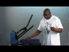 Heat Pressing 40 T-shirts for a Church Fundraiser - See My Routine! - YouTube