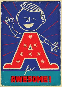 A for Awesome | by Paul Thurlby