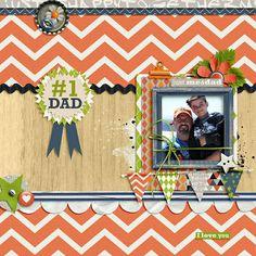 Just Me and Dad - Scrapbook.com