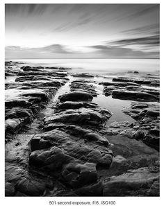 How to Take Black and White Landscape Photos #LandscapeBlackAndWhite