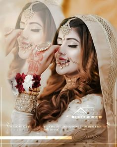 Wedding Girl, Wedding Dresses For Girls, Girls Dresses, Stylish Dpz, Stylish Girl, Eye Photography, Wedding Photography, Smile Drawing, Beauty Salon Decor