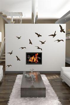 Singing Birds Wall Art Design