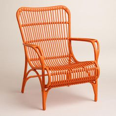 One of my favorite discoveries at WorldMarket.com: Orange Hanalei Occasional Chairs, Set of 2
