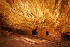Fire Roof ruin, aka Ceiling on Fire and House on Fire ruin. Cedar Mesa, Utah.