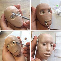 #art #bjd #craftdoll #handmade #sculpting #polymerclay #livingDoll #шарнирнаякукла #ручнаяработа #полимернаяглина