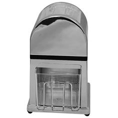 This Ice Crusher is chrome plated and will look great in your bar, restaurant or café.