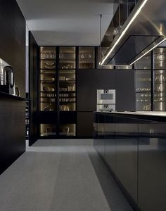 Modern Kitchen Design – Want to refurbish or redo your kitchen? As part of a modern kitchen renovation or remodeling, know that there are a . Modern Kitchen Lighting, Modern Kitchen Design, Interior Design Kitchen, Modern Interior Design, Interior Architecture, Lobby Interior, Modern Interiors, Luxury Interior, Küchen Design