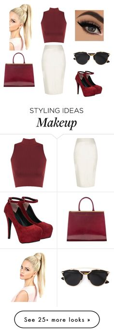 """Work Day"" by patriciastyles-3 on Polyvore featuring River Island, Christian Dior and WearAll"