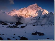 I must see this...it will happen. Mount Nuptse, Himalaya Mountains, Nepal