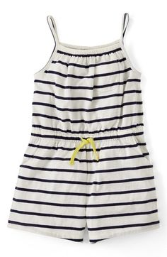 Mini Boden Jersey Playsuit (Toddler Girls, Little Girls Big Girls) available at #Nordstrom