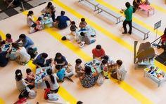親子で楽しめる東京ミッドタウンの夏イベント。 Oyako de tanoshimeru Tōkyō Middotaun no natsu ibento. Acara musim panas di Tokyo Midtown yang dapat dinikmati oleh orang tua dan anak.