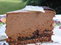 """Мока чизкейк с черносливом"" (Mocha Prunes Cheesecake)"