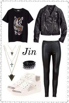 """Outfit inspired by: Jin in BTS """"We Are Bulletproof"""" MV."""