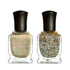 Ease into Fall with the golden shades from Deborah Lippmann's new Jewel Heist Collection.