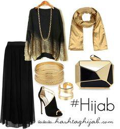 Gold black