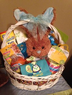 Infant easter basket easter basket ideas pinterest easter infant easter basket easter basket ideas pinterest easter baskets easter and baby negle Images