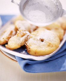 ***Apple Fritters with Moscato Wine/ dinnerinvenice.com