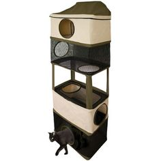 Found it at Wayfair - Ware Manufacturing Hideout Version Cat Condohttp://www.wayfair.com/Ware-Manufacturing-Hideout-Version-Cat-Condo-11041-WFG1249.html?refid=SBP.rBAZEVT9yTF8LFypGi5dAi_mQsHoLUiVlDtkCqOL4r4